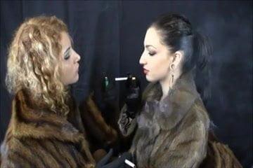 2 Mistress smoking