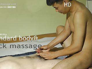 Asian nude massage...