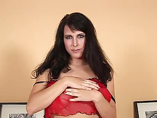 Dildo in Roxana's pussy