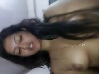 Shy Christian beautiful secures cumshot in her lustful twat from husband