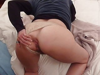 Booty milf tries dildoes then cock...