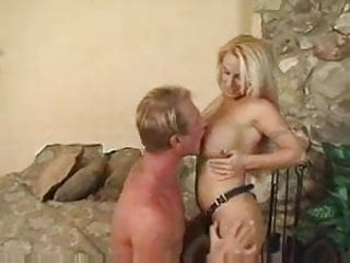 Holly Halston Fucks And Blows Him At The Same Time