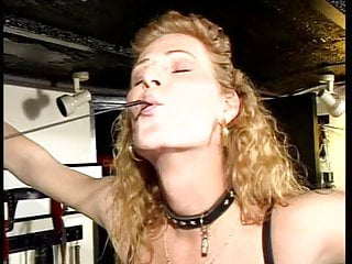 Mistress Catja dominates and whips a MILF (1)