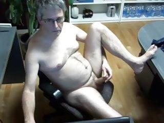 Hard cock cam stroking