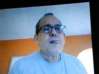 Dirty old miami daddy on cam...