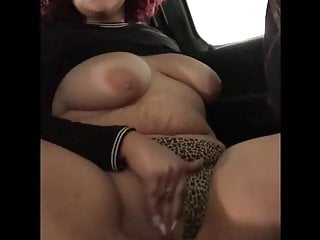 redhead bbw masturbates in carHD Sex Videos