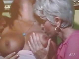 Vintage licking threesome...