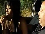 Black Prostitute - BlowJob In The Car