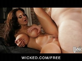 SEXY brunette pornstar Ava Addams is fucked hard and deep