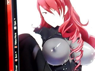 messy cum tribute - mitsuru (persona 3)HD Sex Videos