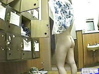 Japanese locker room