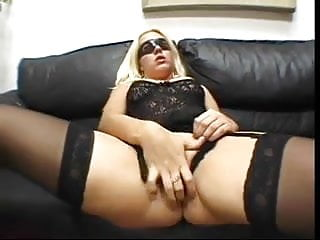 Husband watching His Mask Wife fucked by a Horny Man