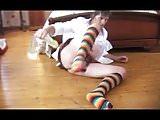 transvestite schoolgirl anal fisting dildo sissy 86