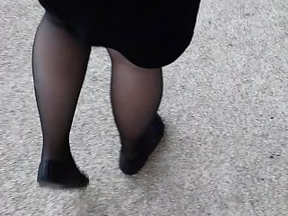 my girlfriend with sexy pantyhose !
