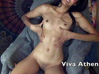 STUNNING ASIAN CAMGIRL VIVA ATHENA DILDOS TIGHT PUSSY