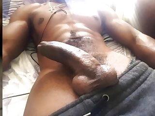 0174  Monster big black cock