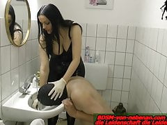 WATERBOARDING - german domina torture slave at fetish date