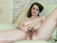 karen b lays naked on her couch after her workfree full porn