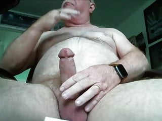 63 with big hard cock...