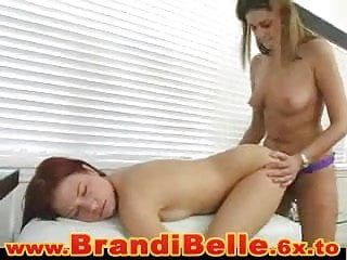 Teen Brandi Dildo Fucking