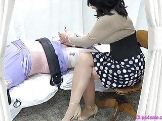 Sissy tickling mommy...