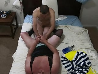 Part 2 white cd sissy sucked off by...