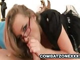 Colette - Succulent Euro Slut Throated And Fucked