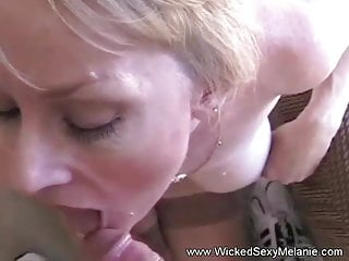 Oral sex bj from a sexy milf and...