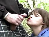 terry downs blowjob in a public park
