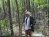 Italian mature in forest