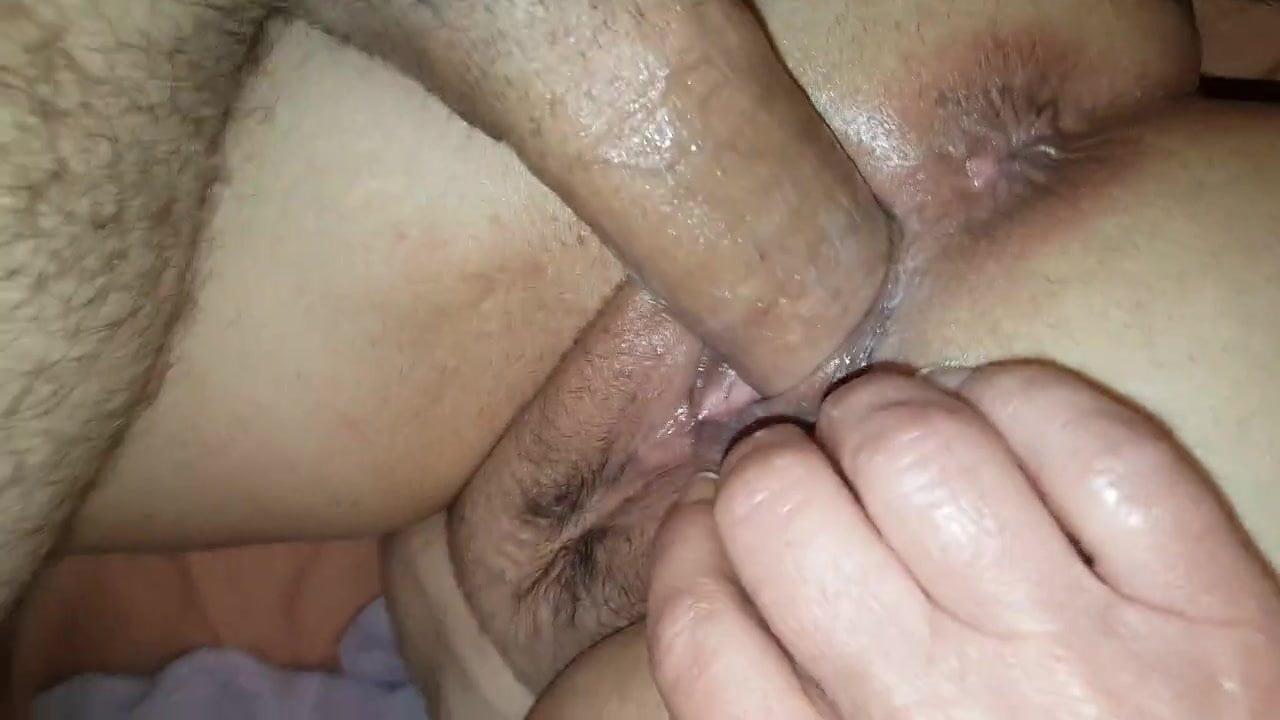 Shoving Big Things Pussy
