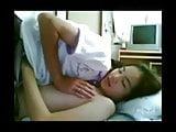 Asian Couple Dorm Room Sex
