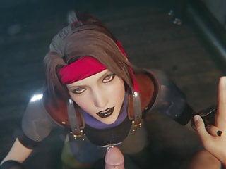 Goth black lipstick...