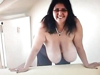 Slow motion tits...
