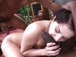 Sexy porn slut fucking black dude...