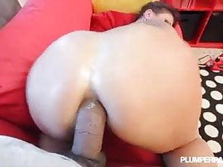 Busty takes deep ass...