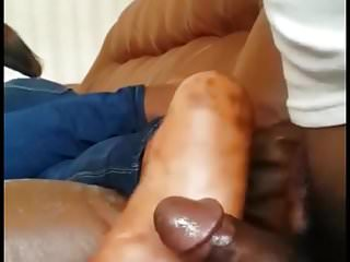 African soles on cock...