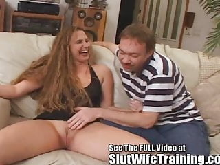 Brandi's Cuckold Husband Gets An Anniversary Creampie Video