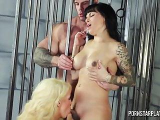Pornstar Platinum Alura Jenson 3way con Trans