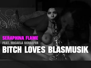 seraphina flame feat micaela schaefer - bitch love blasmusikPorn Videos