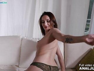 Ass fuck scene – Elegant Luna Melba smashed in her oiled butt