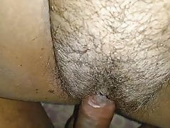 Hot wife riding and getting creampied