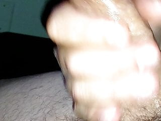 Jerked off for a woman I fuck