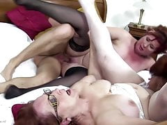 boy fuck three mature pussiesfree full porn
