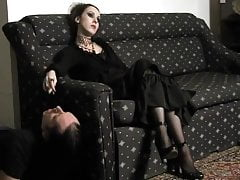 Mistress Bojana - Human Ashtray