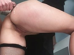 Caught the maid stealing and fucked her for it in her wet pussy