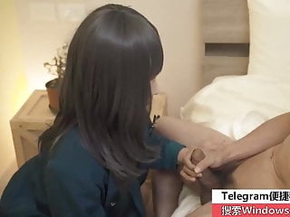 Chinese AV orginals makeup girl gets fucked by AV actor