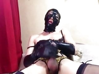 Japan crossdresser mask strokin...