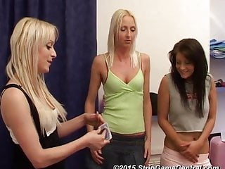 Carmen, Paige & Tracey Play Strip SuddenDeath