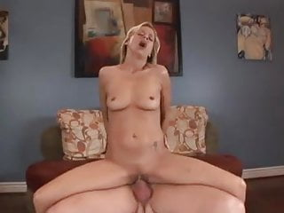 Blonde milf loves ass...